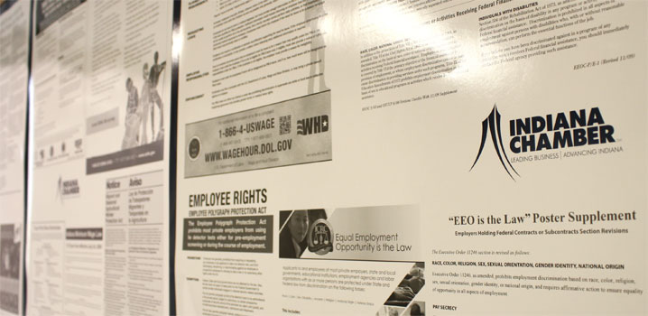 Indiana Chamber of Commerce Employment Posters