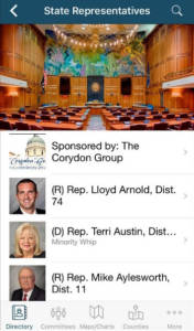 2017 Legislative Directory App