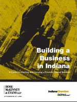 Building a Business in Indiana