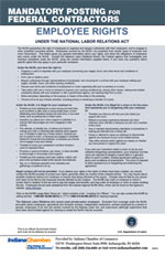 Federal Contractor Employee Rights Poster