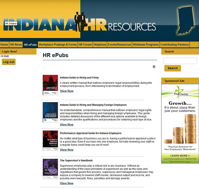 Indiana HR Resources - Indiana Chamber of Commerce